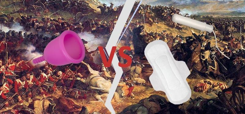 Coupe menstruelle VS tampon et serviette hygiénique