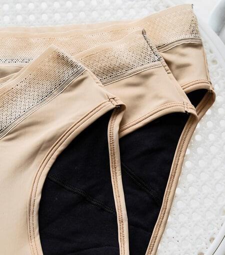 des culottes menstruelles vues de près
