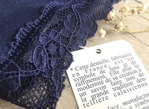 détail de la dentelle de la culotte Petites Culottées