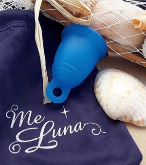 meluna cup bleue taille m