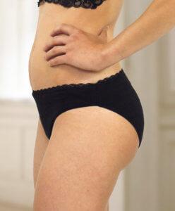 culotte menstruelle portée (elia)