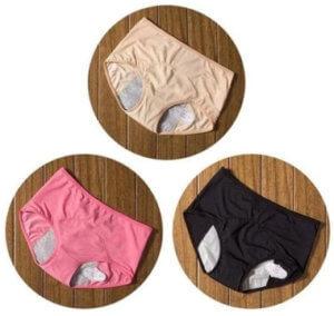 fausses marques de culottes menstruelles
