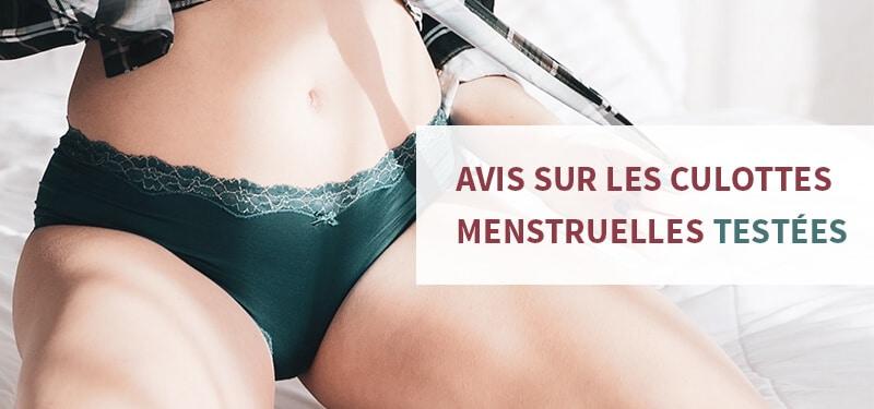 Avis sur les modèles de culottes menstruelles