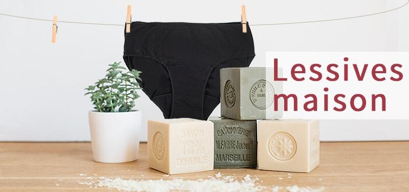 Lessive maison adaptée aux culottes menstruelles : recettes et conseils