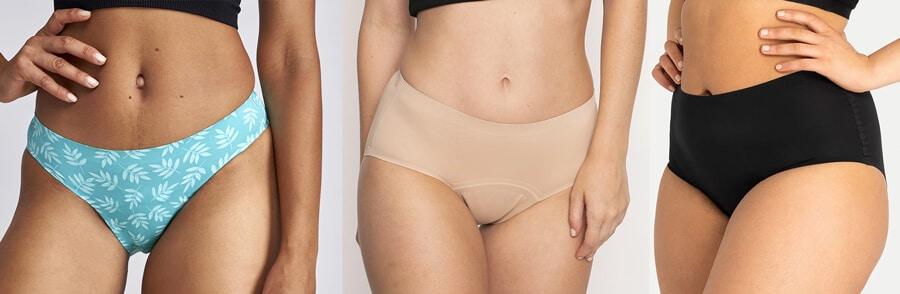 gamme de culottes menstruelles sans couture de Modibodi