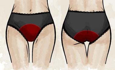 culotte menstruelle pour flux abondant