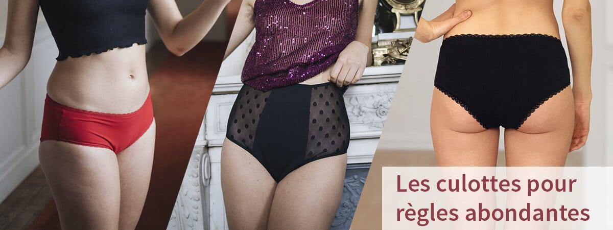 Meilleures culottes menstruelles pour règles abondantes