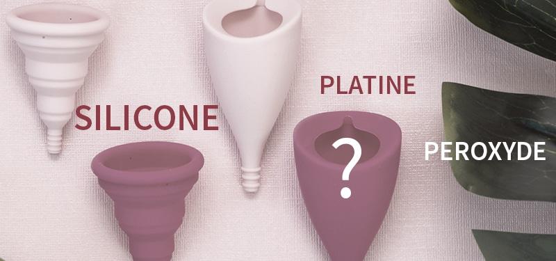 choisir entre cup en silicone peroxyde ou platine