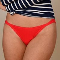 culotte menstruelle échancrée