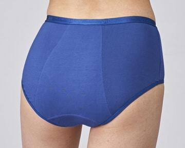 shorty menstruel modibodi adapté pour un flux arrière