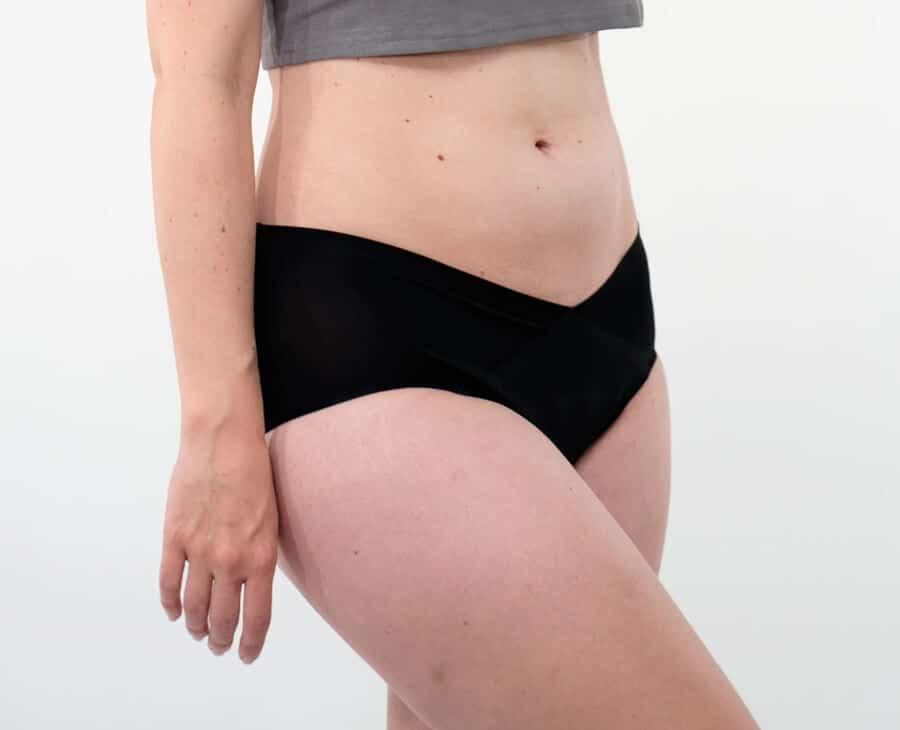 culotte menstruelle pour la grossesse de marque Loulou