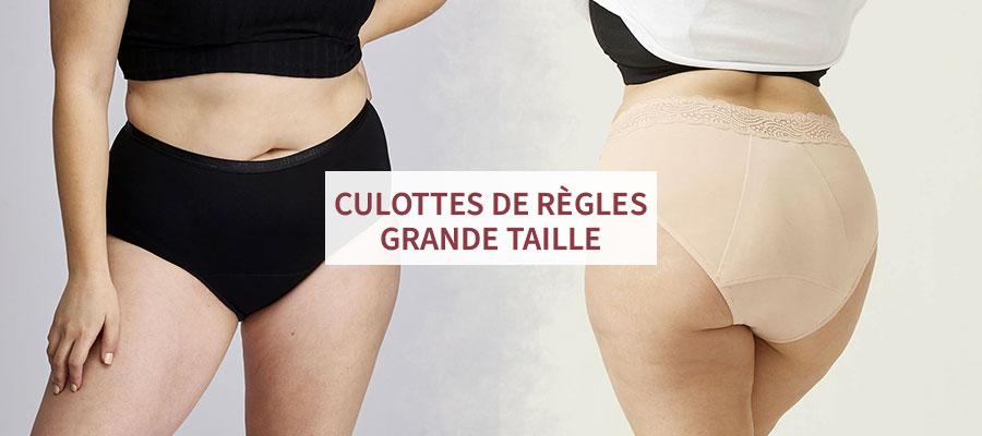 comparatif des culottes menstruelles grande taille